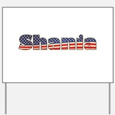 American Shania Yard Sign