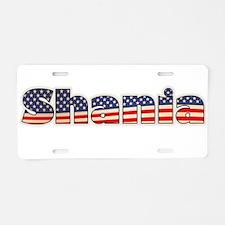 American Shania Aluminum License Plate
