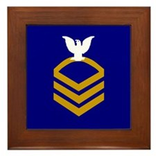 Chief Petty Officer <BR>Framed Tile