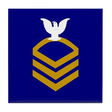 Chief Petty Officer<BR> Tile Coaster