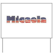 American Micaela Yard Sign