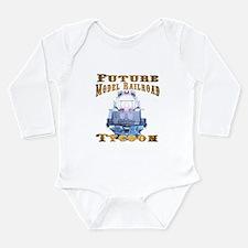 Future Model Railroad Tycoon Long Sleeve Infant Bo
