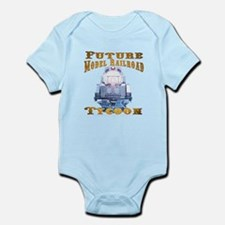 Future Model Railroad Tycoon Infant Bodysuit