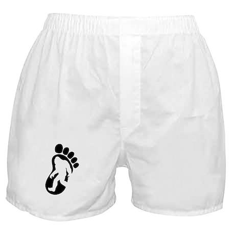 Yeti Footprint Boxer Shorts