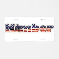 American Kimber Aluminum License Plate