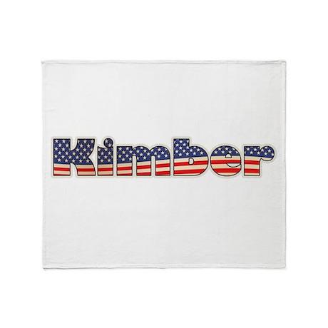 American Kimber Throw Blanket
