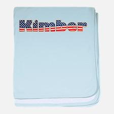 American Kimber baby blanket