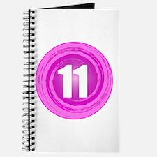 11th Birthday Girl Journal