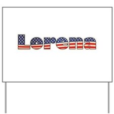 American Lorena Yard Sign