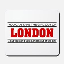 'Girl From London' Mousepad