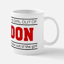 'Girl From London' Mug