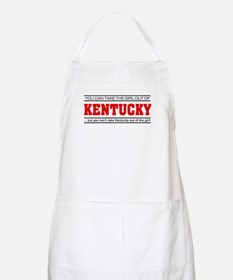 'Girl From Kentucky' Apron
