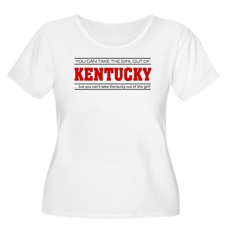 'Girl From Kentucky' Women's Plus Size Scoop Neck