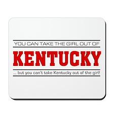 'Girl From Kentucky' Mousepad