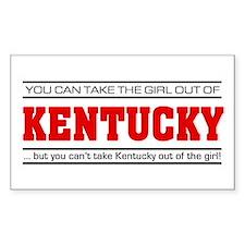 'Girl From Kentucky' Decal