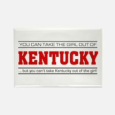 'Girl From Kentucky' Rectangle Magnet