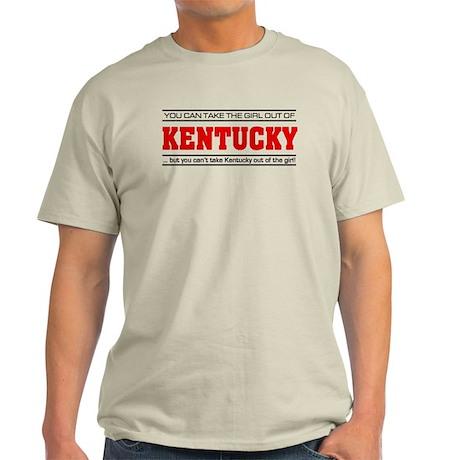 'Girl From Kentucky' Light T-Shirt