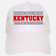 'Girl From Kentucky' Baseball Baseball Cap