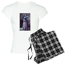 Vintage Bellydancer Blue Purp Pajamas