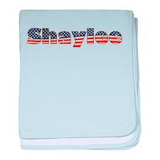 American Shaylee baby blanket