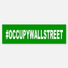#OccupyWallStreet: Bumper Bumper Sticker