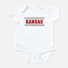 'Girl From Kansas' Infant Bodysuit