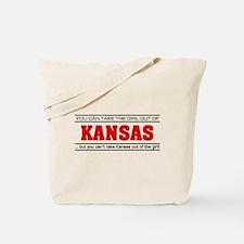 'Girl From Kansas' Tote Bag