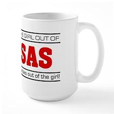 'Girl From Kansas' Mug