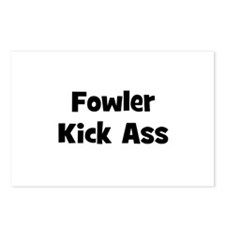 Fowler Kick Ass Postcards (Package of 8)
