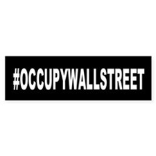 #OccupyWallStreet: Bumper Sticker