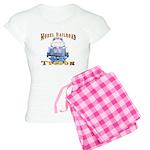 Model Railroad Tycoon Women's Light Pajamas