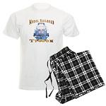 Model Railroad Tycoon Men's Light Pajamas