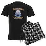 Model Railroad Tycoon Men's Dark Pajamas
