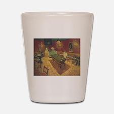 Night Cafe Van Gogh Art Shot Glass