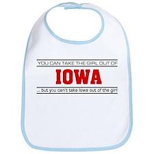 'Girl From Iowa' Bib