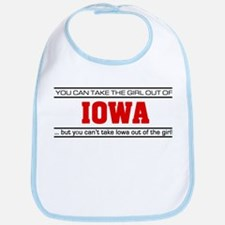 'Girl From Iowa' Bib