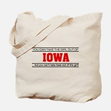 'Girl From Iowa' Tote Bag
