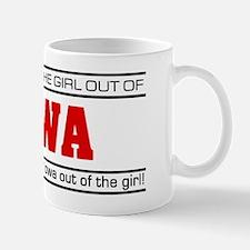 'Girl From Iowa' Mug