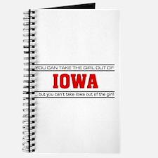 'Girl From Iowa' Journal