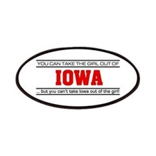 'Girl From Iowa' Patches