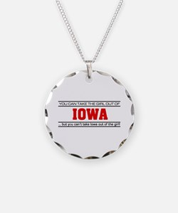 'Girl From Iowa' Necklace