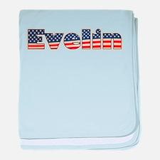 American Evelin baby blanket
