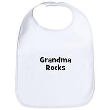 Grandma Rocks Bib