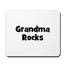 Grandma Rocks Mousepad
