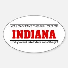 'Girl From Indiana' Decal