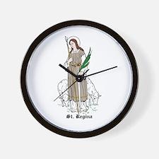St. Regina Wall Clock