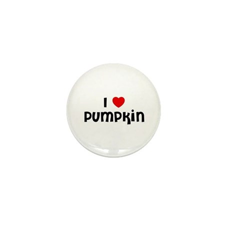 I * Pumpkin Mini Button