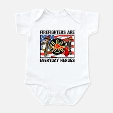 Firefighter Heroes Infant Bodysuit