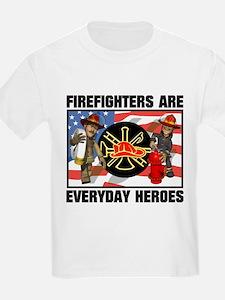 Firefighter Heroes T-Shirt