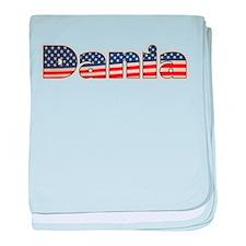 American Dania baby blanket